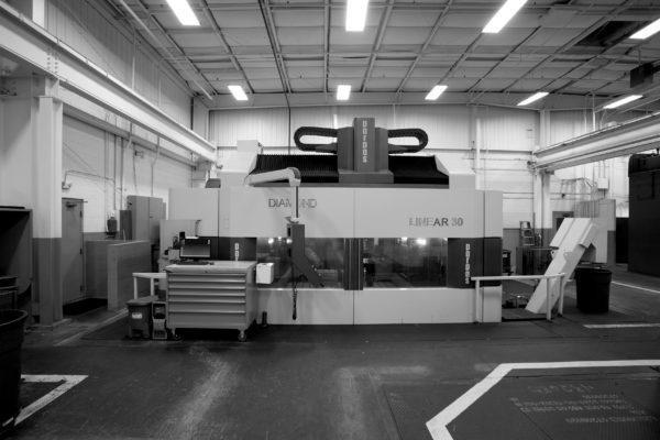 piece of machining equipment
